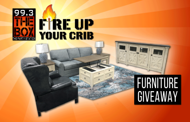 Let The Box Fire Up Your Crib Enter To Win This Living Room Set